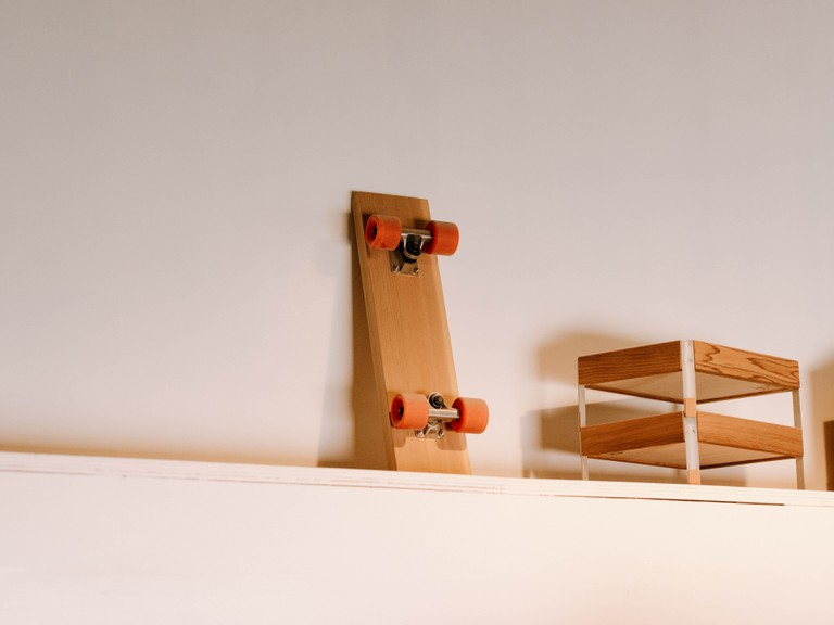 Some of the minimalist items Ishinomaki Laboratory is known for