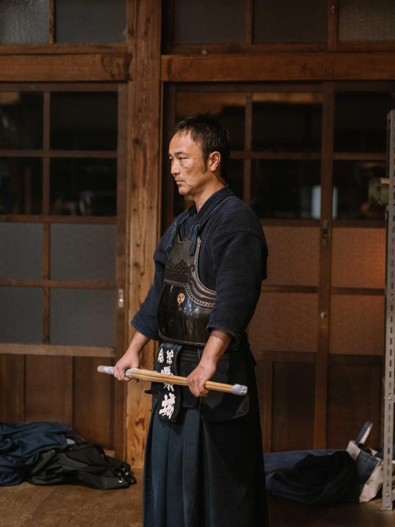 A kendo at the butokuden