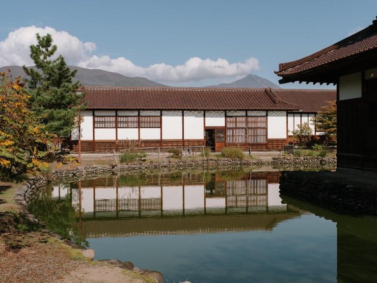 The Nisshinkan in Aizu-Wakamatsu, site of the former samurai training academy