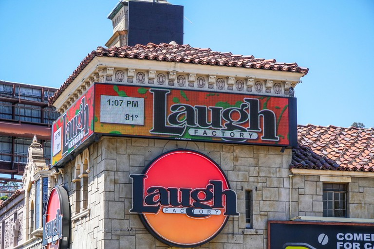 The Laugh Factory at Sunset Boulevard in Los Angeles - LOS ANGELES - CALIFORNIA