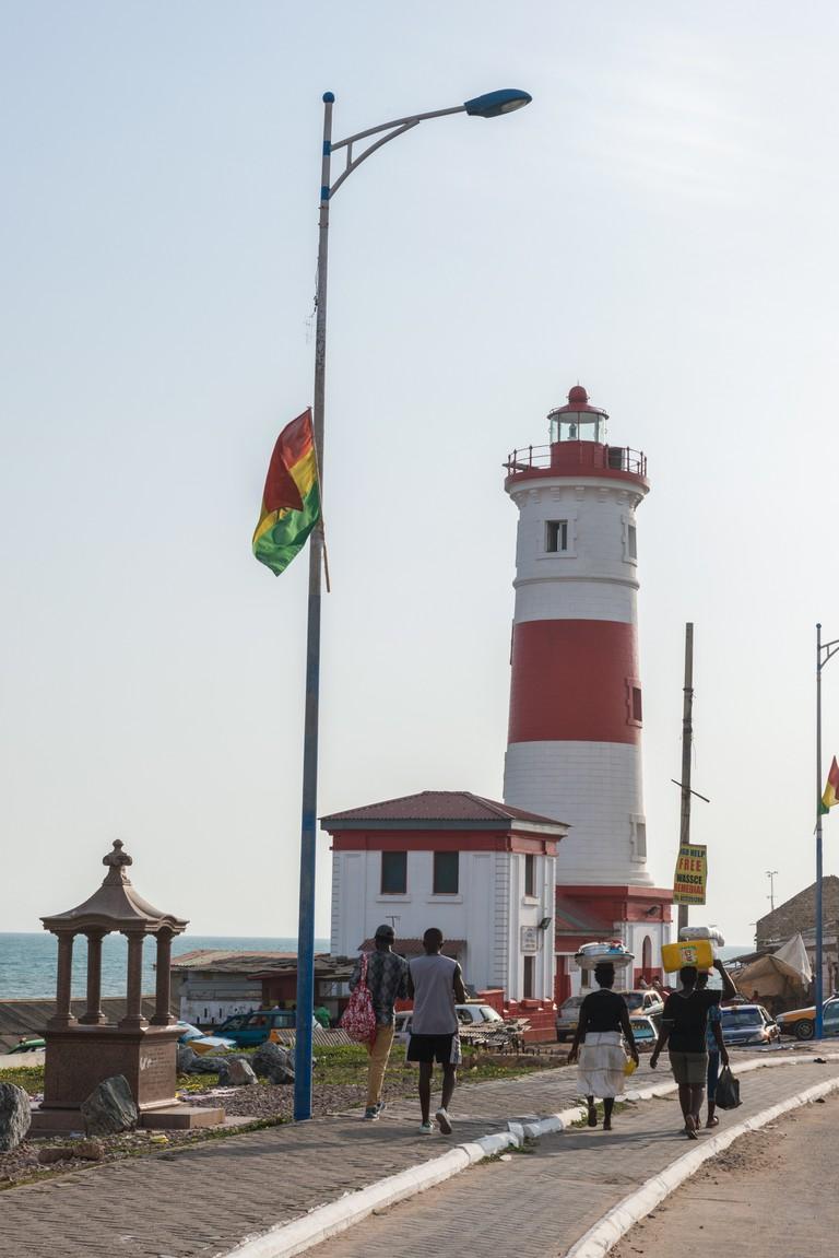 Jamestown lighthouse, Jamestown, Accra, Ghana.
