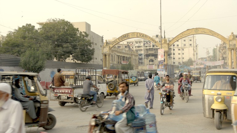Lyari Town. Still from Beyond Hollywood series. 2019, Karachi, Pakistan.