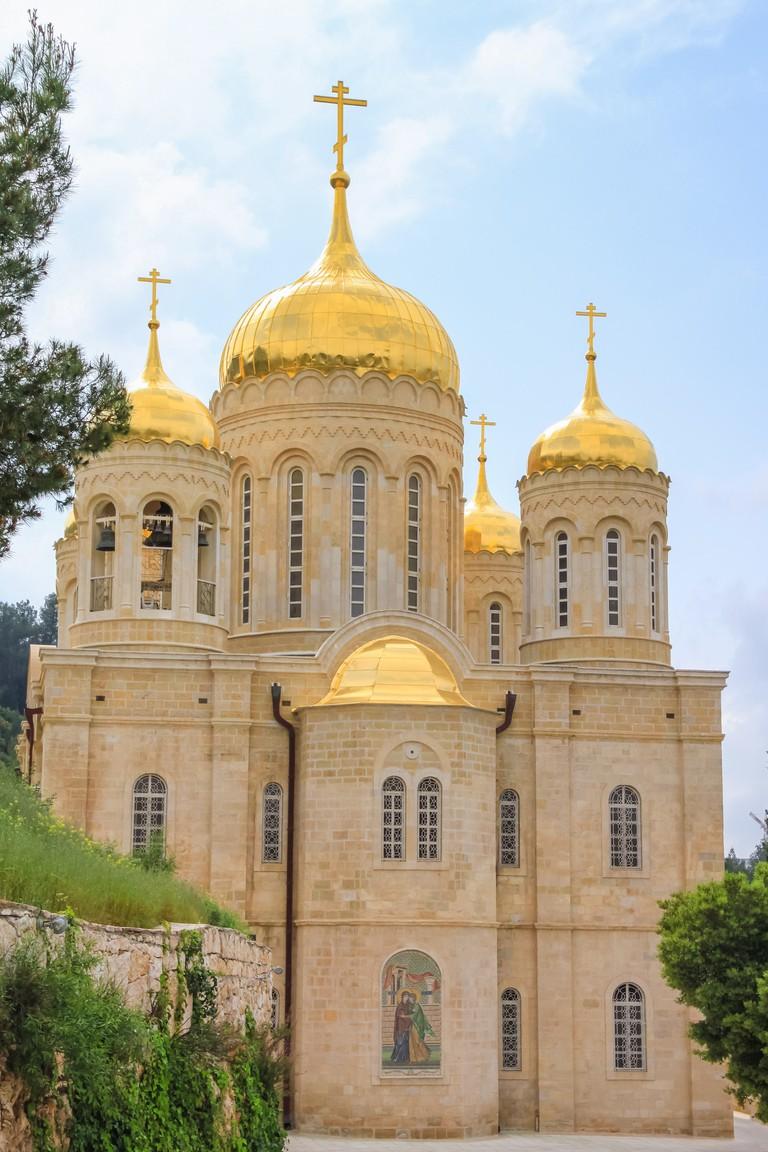 Russian Orthodox Gorny convent monastery, Ein-Karem, Israel