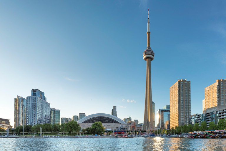 Toronto skyline, Canada.