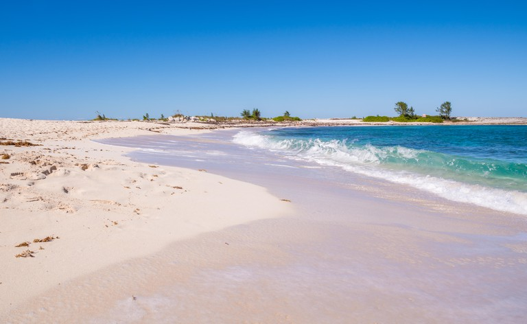 Pink Sand Bahamian Beach