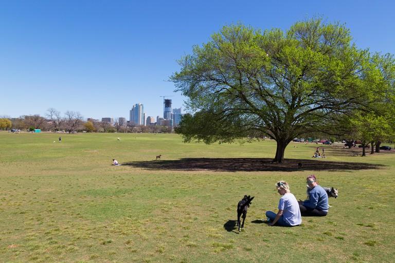 Zilker Park, Austin, Texas.
