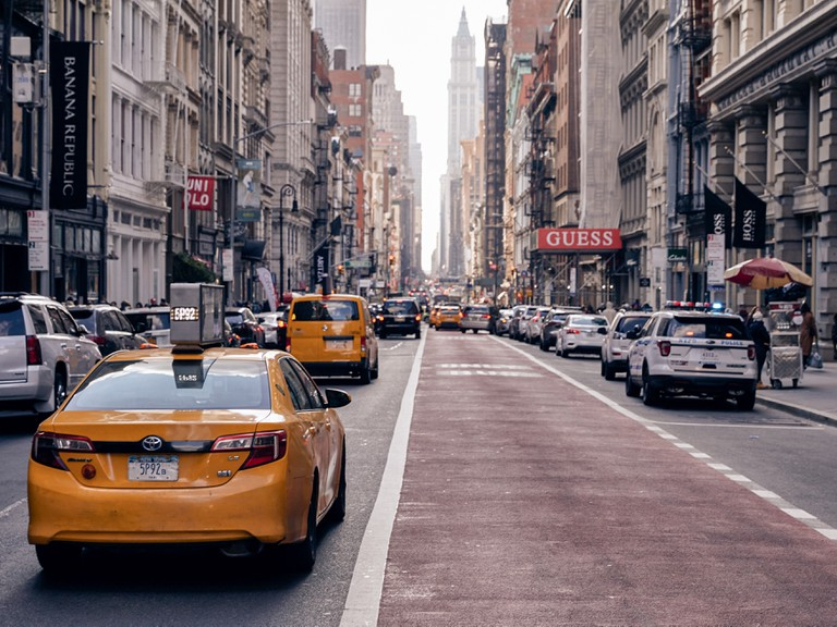 Broadway in Soho, New York, USA.