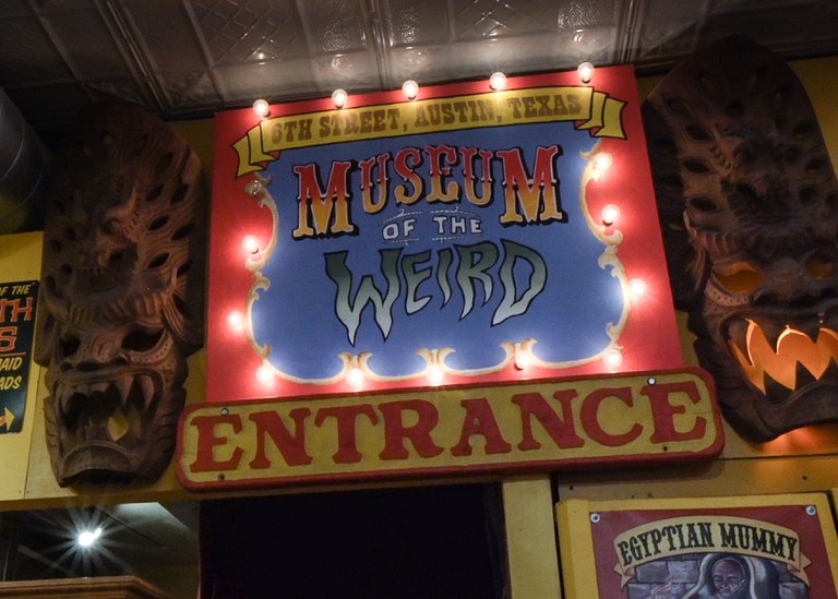 Museum of the Weird. Still from Culture Trip Social Video. 2019. Austin, Texas, USA.