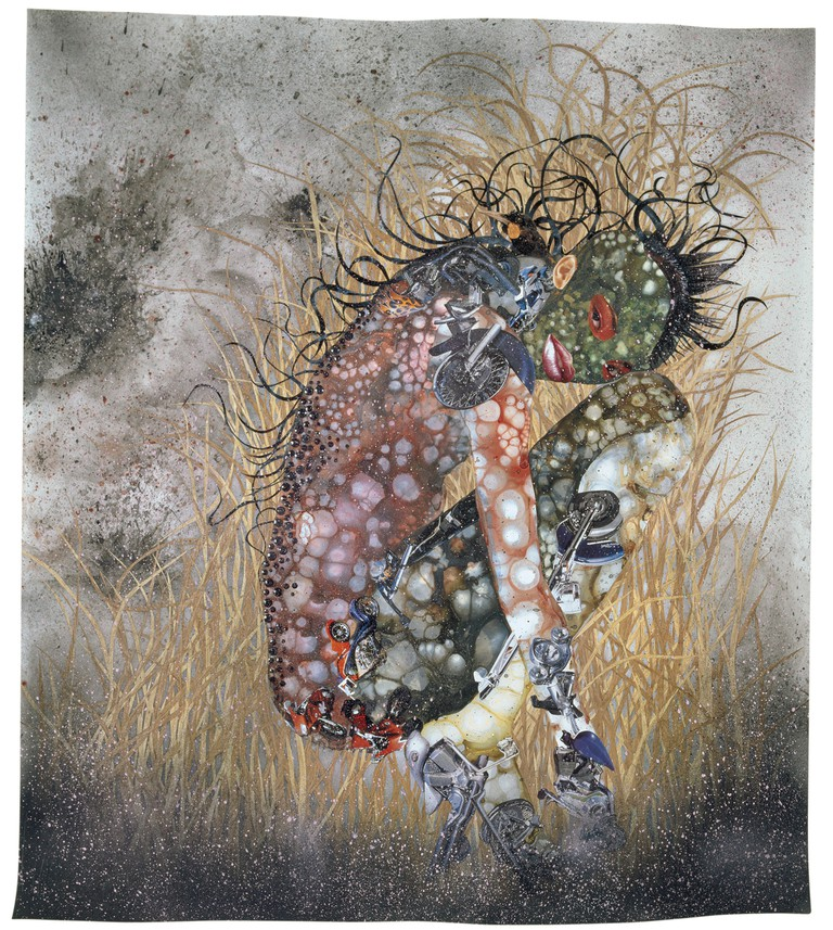 Wangechi Mutu, Hide 'n' Seek, Kill or Speak, 2004