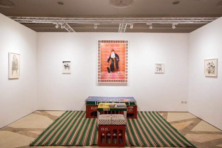 1-54 Contemporary African Art Fair, Marrakech 2018 at La Mamounia.