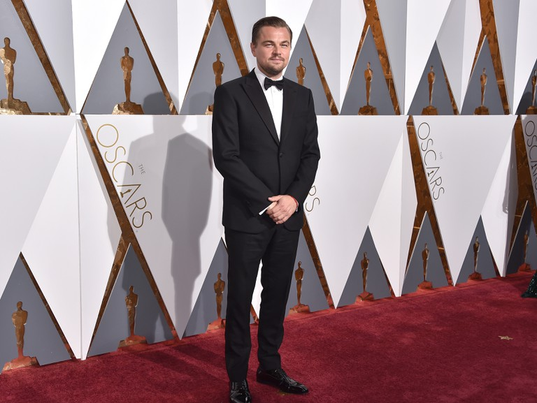 Leonardo DiCaprio at the 88th Annual Academy Awards, Los Angeles.