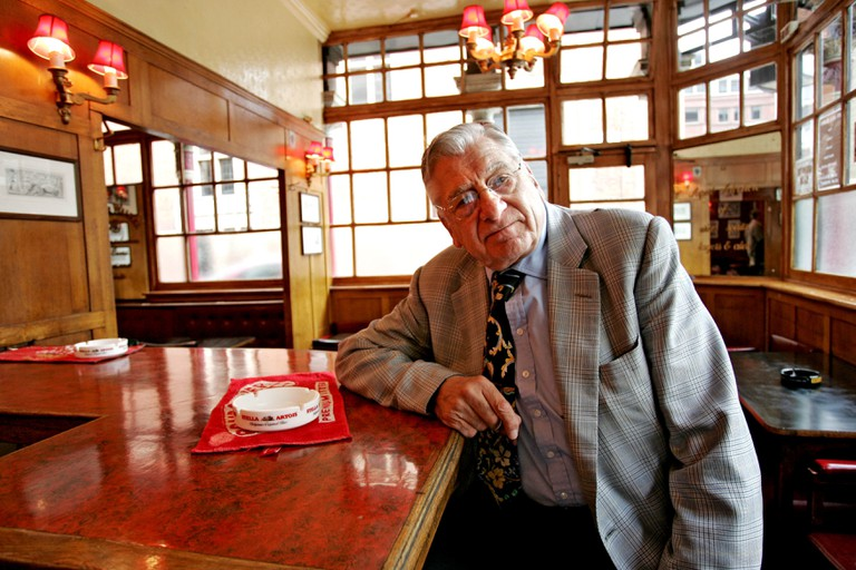 Norman Balan, owner of The Coach and Horses Public House in Soho, London