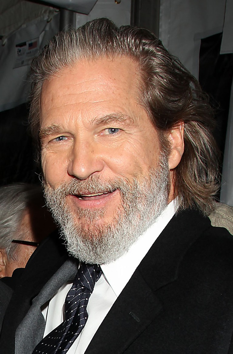 Jeff Bridges at a film premiere, New York, 2010