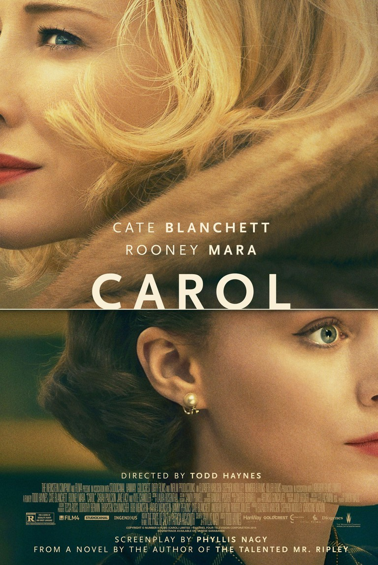 Lobby Card/Poster of CAROL (2015) with Cate Blanchette and Rooney Mara.