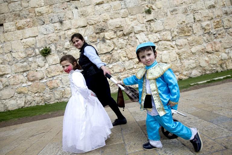 Purim holiday, Jerusalem, Israeli - 10 Mar 2017