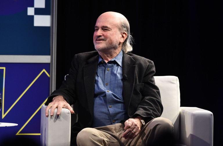 Terrence Malick at the 2017 Made in Austin panel, SXSW Festival, Austin, USA.