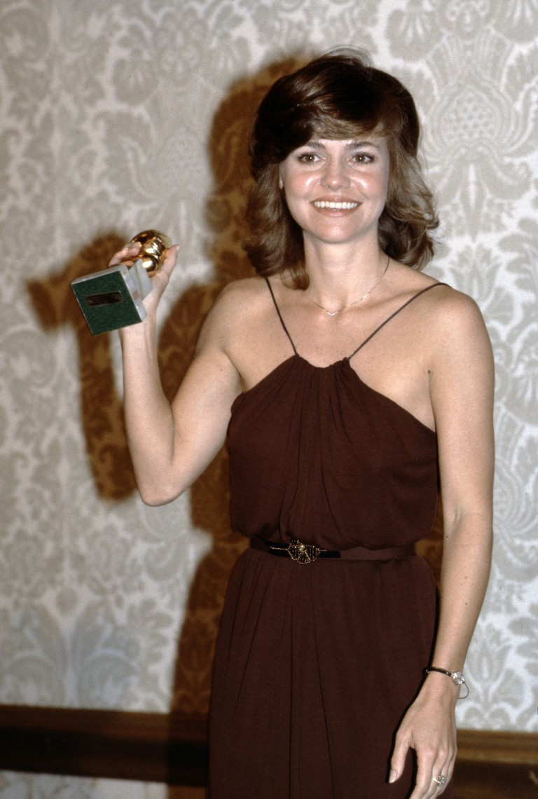 Sally Field at the Golden Globe Awards, Hollywood, 1980