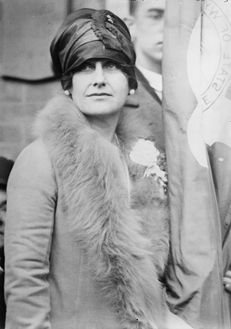 Nellie Tayloe Ross (1876-1977). Governor Of Wyoming. Photograph, C1925.