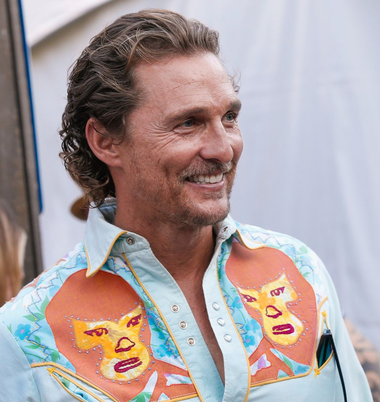 Matthew McConaughey at the 2017 'Strength In Neighbors' Benefit, Austin, Texas, USA.