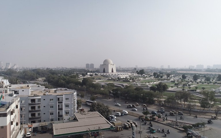 Mazer-E-Quaid in Karachi, Pakistan.
