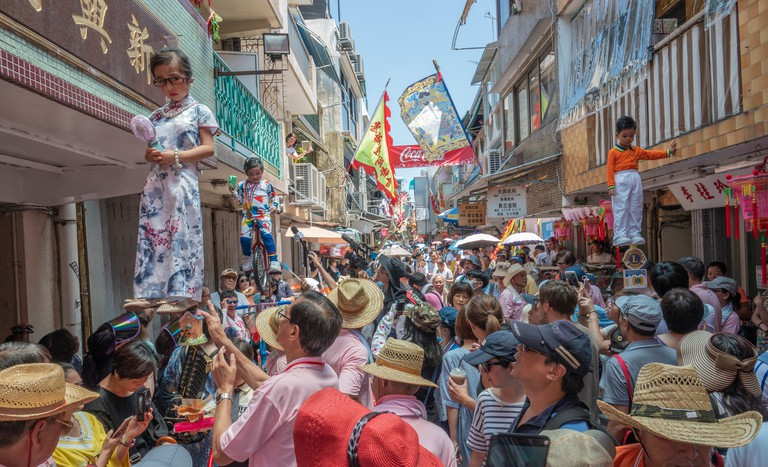 Cheung Chau Bun Festival.