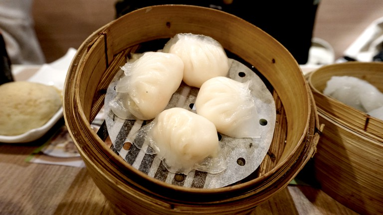 Dumplings at Tim Ho Wan