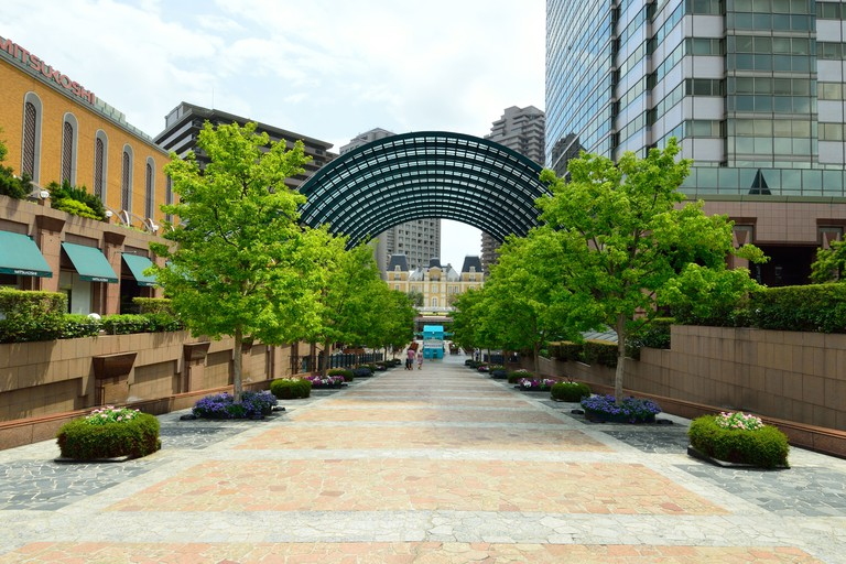Yebisu Garden Place in Ebisu, Tokyo, features dining, shopping and entertainment options