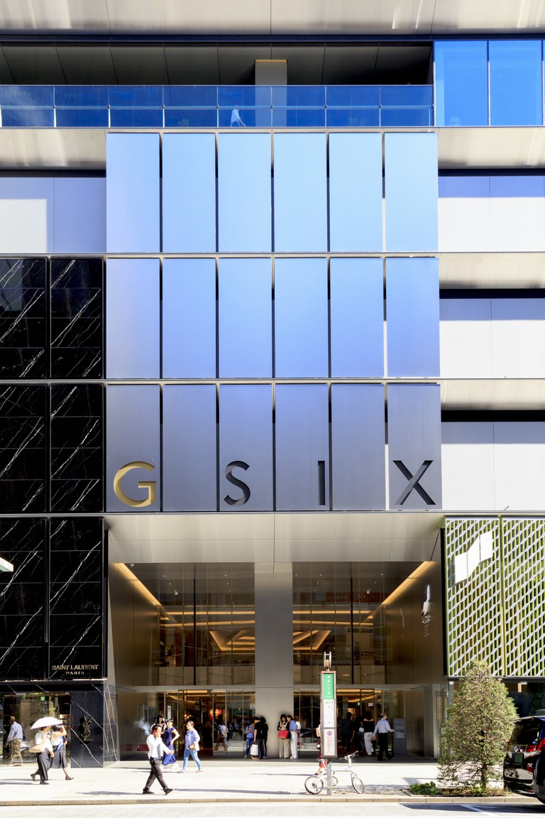 Ginza Six, luxury shopping complex located in the Ginza, Tokyo.