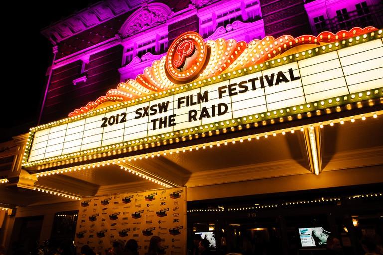 Paramount Theater during 2012 SxSW Film Festival, Austin, Texas, USA.