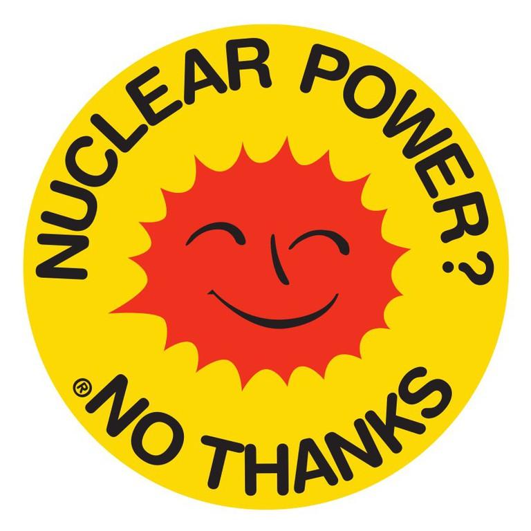 Anne Lund's Ban Nuclear Power logo