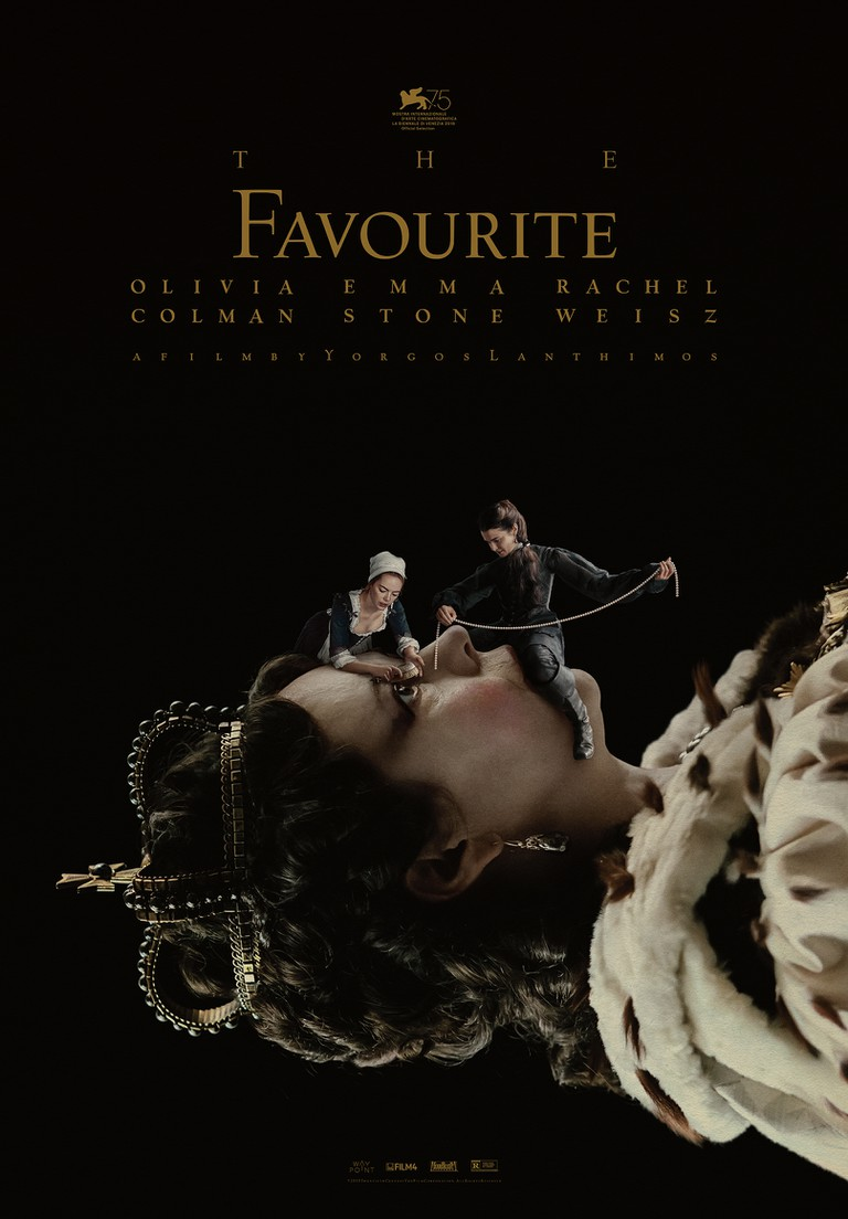 Marmatakis's poster for 'The Favourite'