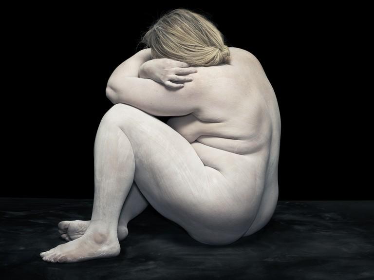 Elizabeth sitting, 2012
