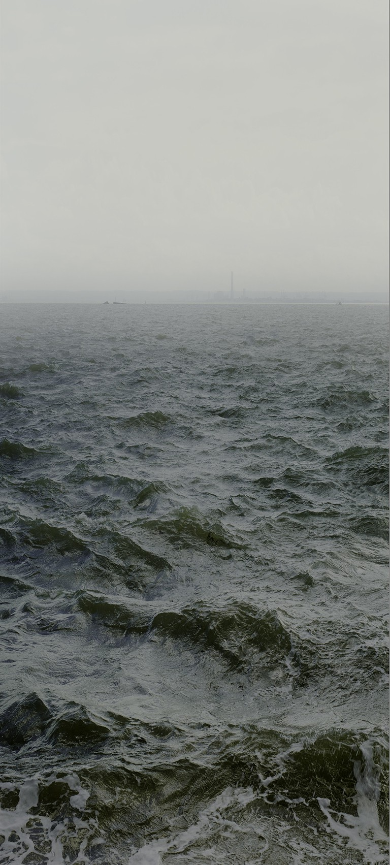 Water XVIII, (Shoeburyness towards Mulberry Defenses and on to Grain Power Station), England, 2015