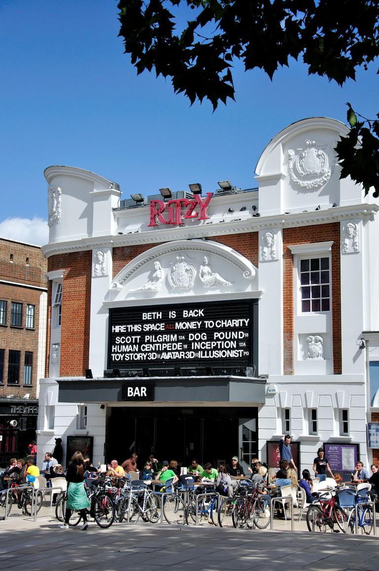 The Ritzy Cinema, Brixton.