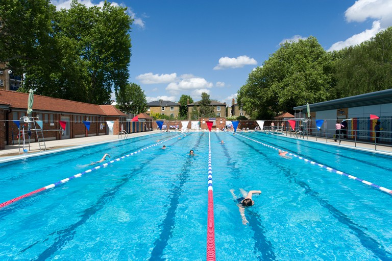 London Fields Lido, UK