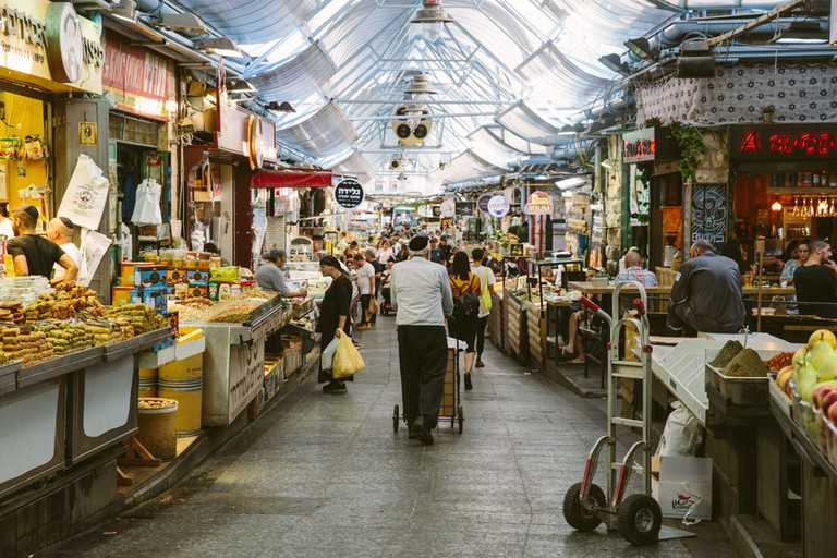 The Shuk turns into one of the city's best nightlife scenes after dark