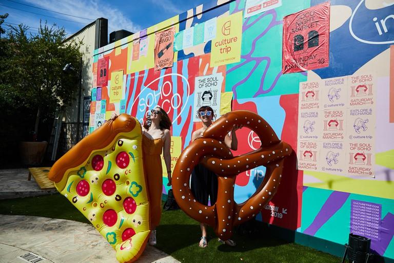 Culture Trip takes over Austin Motel during SxSW 2019 in Austin, Texas, USA.