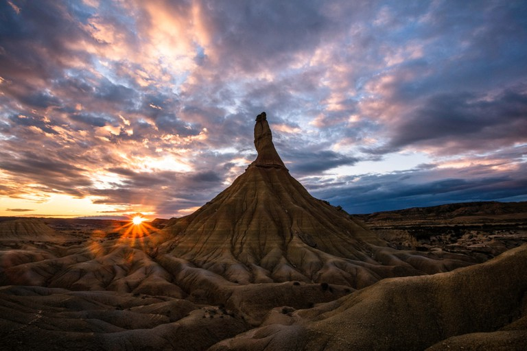 Castildetierra. Parque Nacional De las Bardenas Reales, Spain where Game of Thrones, season 6 scenes were filmed.