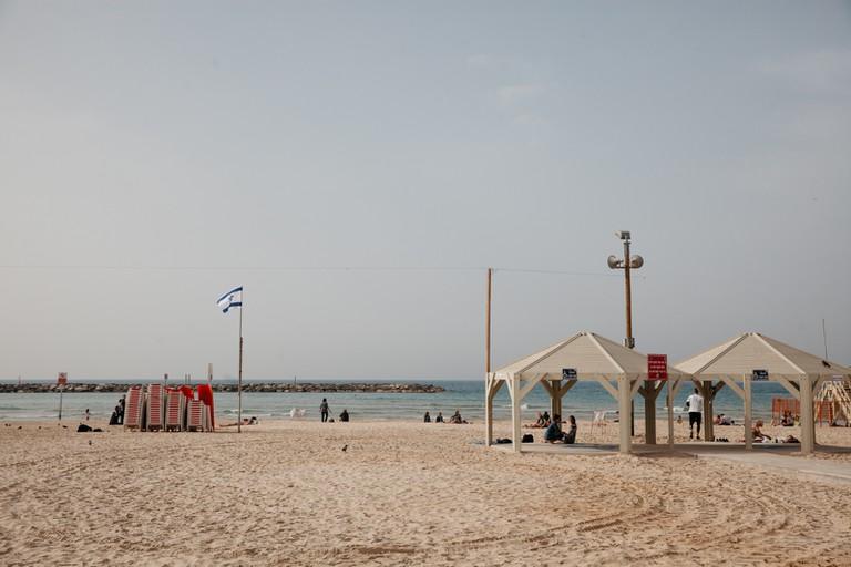 Fisherman Beach, Tel Aviv, Israel