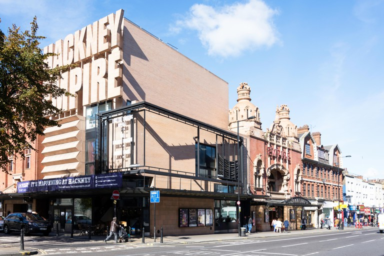 Hackney Empire Theatre, Mare Street, Hackney Central, London Borough of Hackney, Greater London, England, United Kingdom