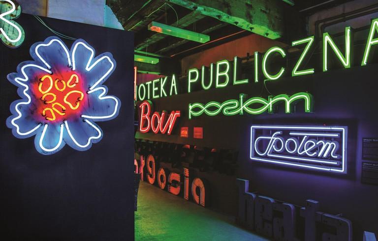 Neon Muzeum interior