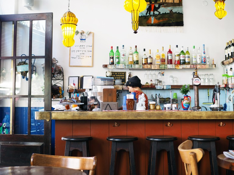 Visiting restaurants and bars in Florentin is a great way to get chatting to locals