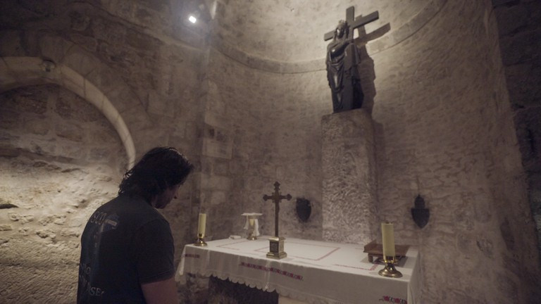 Razzouk's favourite place in Jerusalem is the Church of the Holy Sepulchre