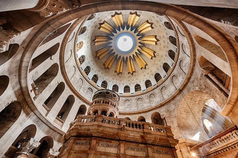 The Church of the Holy Sepulchre is a must-see