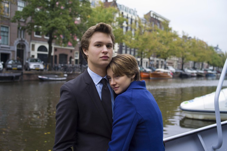 Ansel Elgort and Shailene Woodley in 'The Fault in Our Stars' (2014)