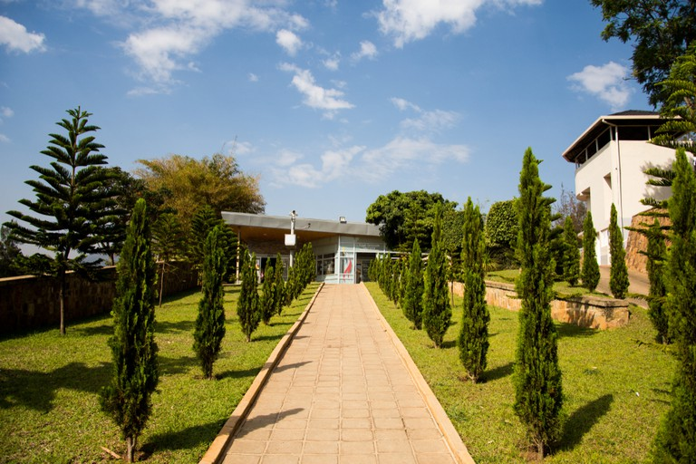 Exterior of the Kigali Genocide Memorial