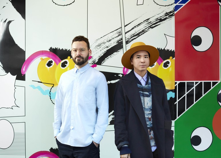 Graphic Design Duo Tin and Ed