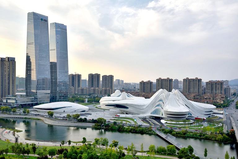 Meixi Lake International Culture and Art Center