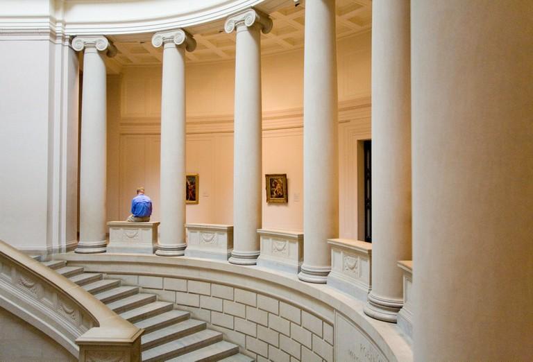 Museum of Fine Arts in Boston, USA.