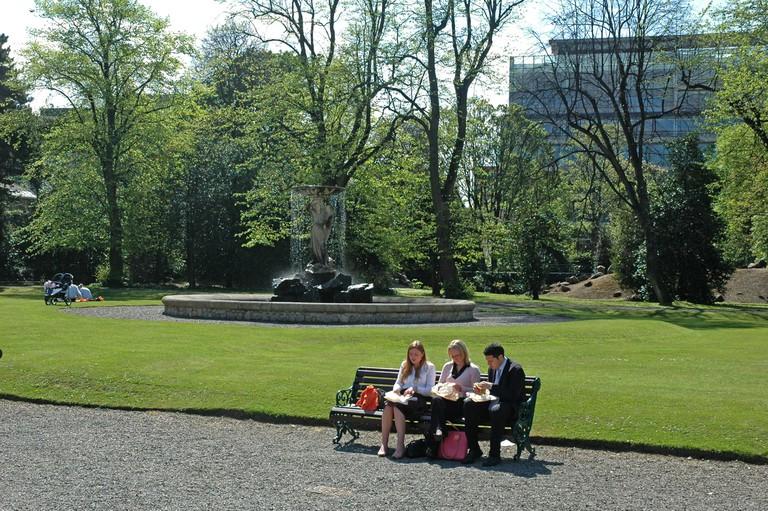 Iveagh Gardens in Dublin